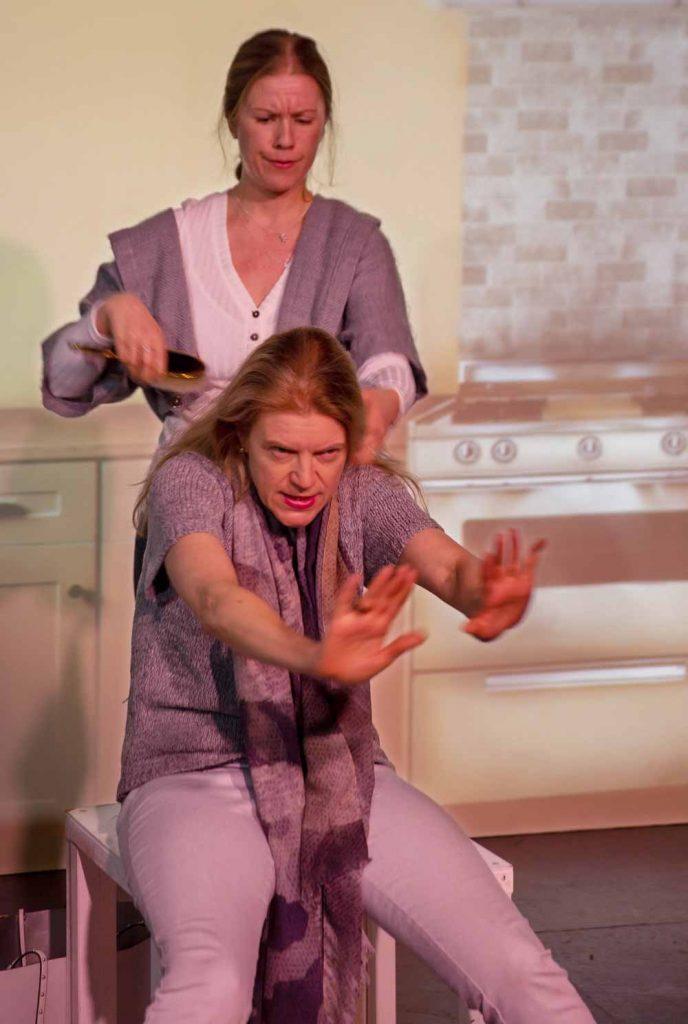 actors on stage breadcrumbs